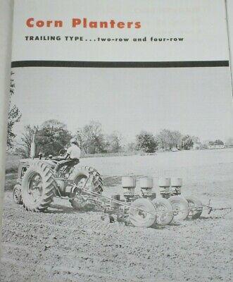 Ih Mccormick Corn Planters Brochure 40 44 440 441 442 2 4 Check Row Farmall H M