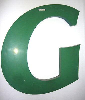 Buchstabe Buchstaben Werbung Letter Blechbuchstabe Reklame Advertisement werben