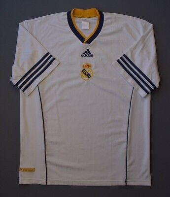 1a76de27a 4.6 5 RARE REAL MADRID FOOTBALL SOCCER TRAINING JERSEY SHIRT ADIDAS SIZE L