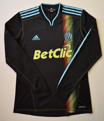 4.85 Olympique Marseille 2010~2011 Football Third Shirt Jersey Formotion Adidas image