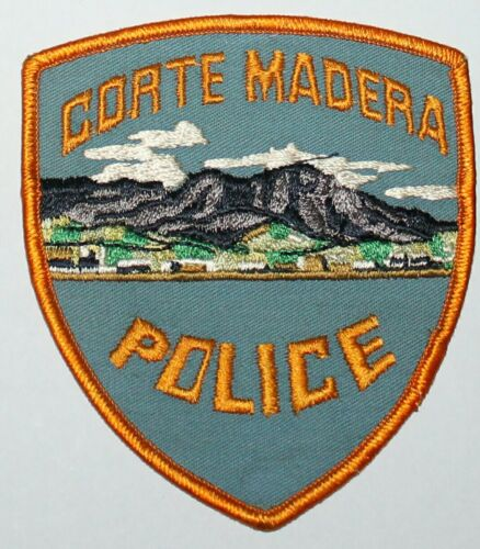 Defunct CORTE MADERA POLICE Marin County California CA PD Vintage patch