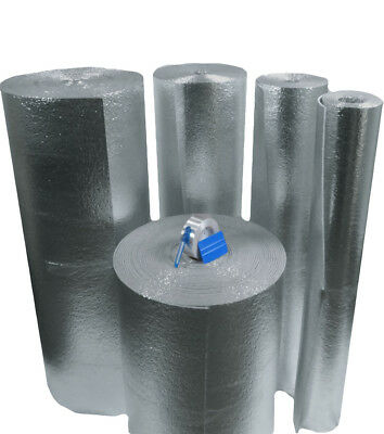 400sft Nasatek Foam Core Pipe Duct Wrap Insulation Weatherization Kit 48x100