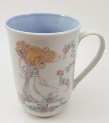 """Vintage Precious Moments """"MOM"""" Mug Cup Enesco Sam Butcher 1993 Korea"""