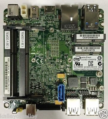 Intel BLKD34010WYB D34010WYB NUC Board i3-4010U Processor 3M Cache, 1.70 GHz