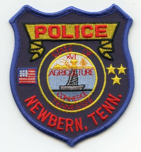 NEWBERN TENNESSEE TN POLICE PATCH