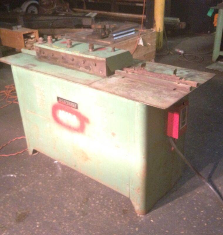 Lockformer 16 gauge Pittsburgh Machine