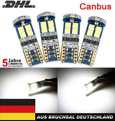4x T10 LED 12-SMD 3030 12V CANBUS Standlicht Mercedes W204 C-Klasse Xenon Weiß