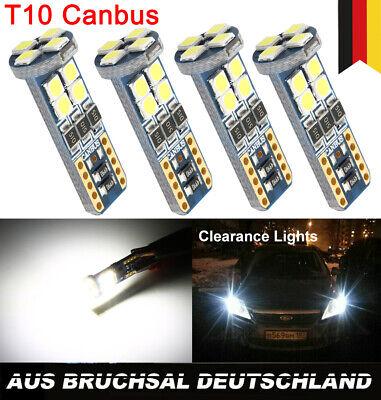 4x T10 LED 12 SMD 3030 Standlicht Für Mercedes W204 C-Klasse Weiß CANBUS 12V DHL