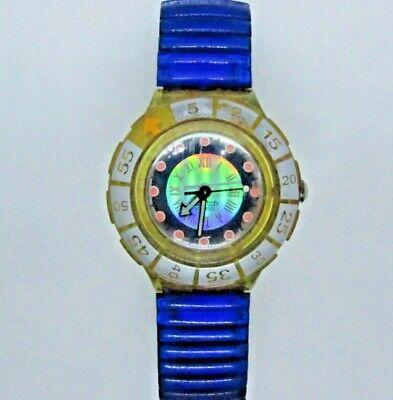 "Vintage SWATCH Watch ""Spark Vessel"" SDK117 1994 Scuba 200m"