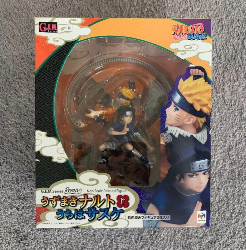 Megahouse G.E.M remix Naruto Uzumaki Sasuke Uchiha PVC