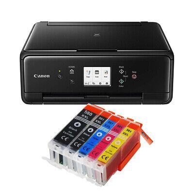 Canon Pixma TS6250 DRUCKER KOPIERER DUPLEX SCANNER AIR PRINT WLAN + 5 XXL