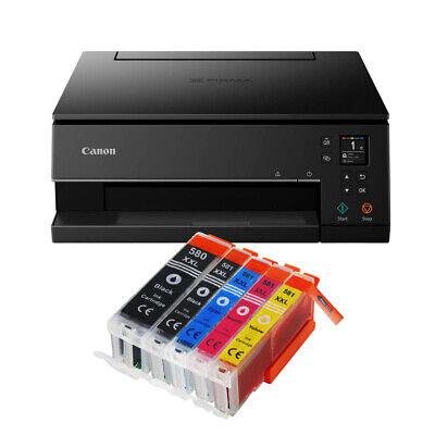 Canon Pixma TS6350 DRUCKER SCANNER KOPIERER WLAN Duplex-Druck + 5 XXL TINTE NEU