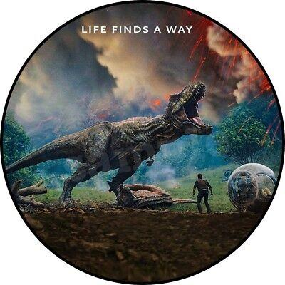 Jurassic World Dinosaurier Muffin Tortenaufleger Party Deko Tortenbild backen
