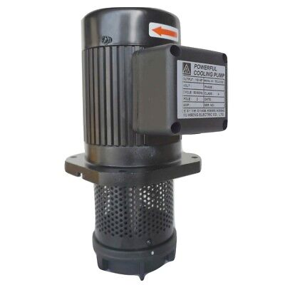 18hp Filtered Coolant Pump 3ph 240v480v 100mm4 12 Npt Cnc Lathe Machine