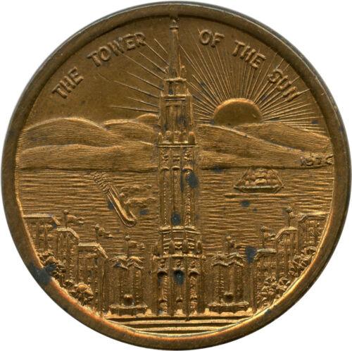 1939 Golden Gate International Exposition San Francisco, California CA Token