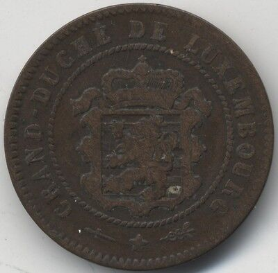 1854 Luxembourg 5 Centimes***Collectors***