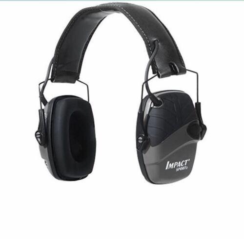 Howard Leight Honeywel Impact Sport Sound Amplification Electronic Earmuff BLACK - $52.00