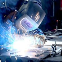 Welding and fabrication works we do.