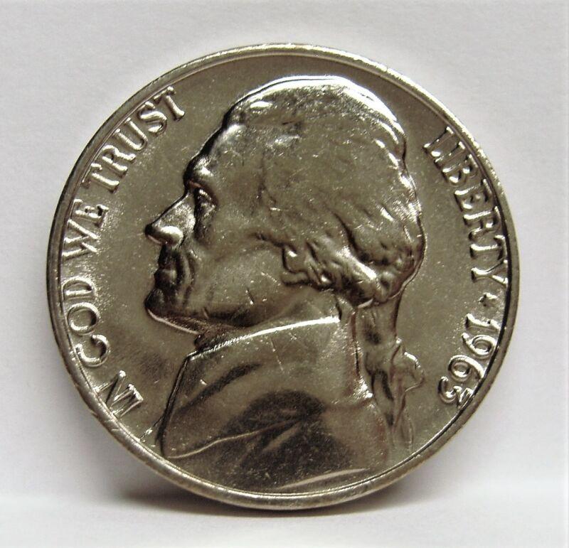 1957 BU Jefferson Nickel Pulled From OBWRoll