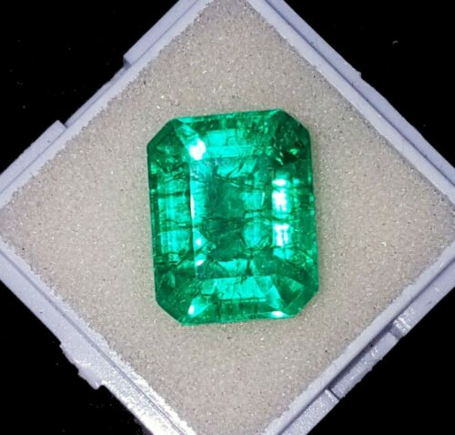 Natural Emerald between 7 to 9 Ct Certified Single Stone Loose Gemstone