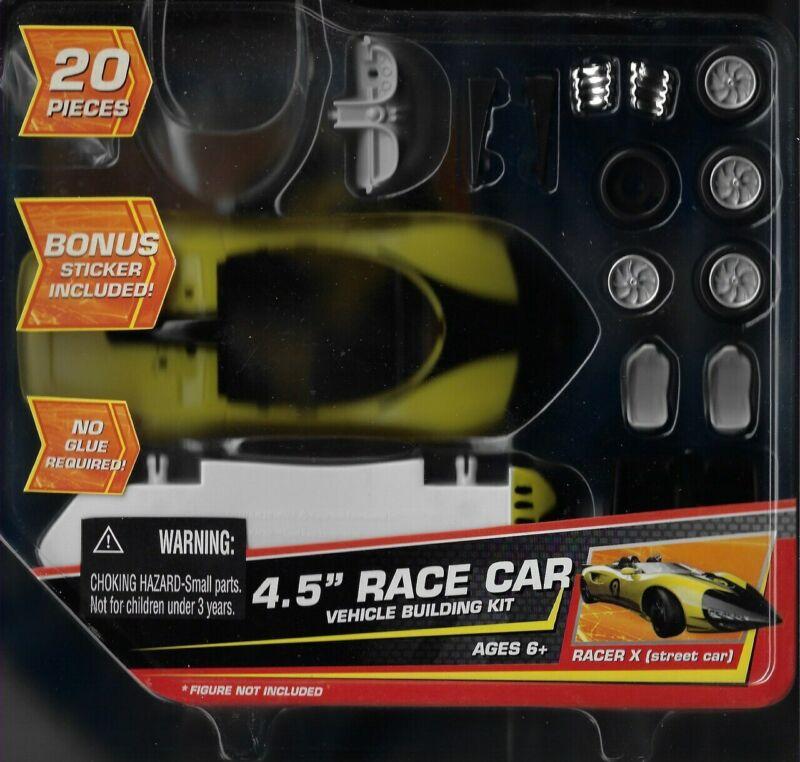 "2008 Jada Toys Speed Racer X Street Car 4.5"" Race Building Kit 20pcs"