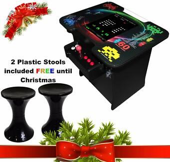 Arcade Machine - Cocktail Design - 2 Player - 60 Classic Games