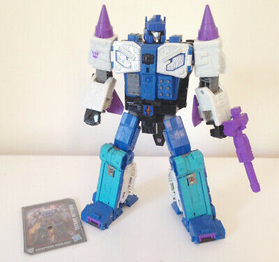 OVERLORD - Transformers Titans Return Leader Class - COMPLETE Figure w/ Card