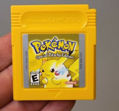 Pokemon: Yellow Version - Special Pikachu Ed. (Nintendo GameBoy, 1999) *READ*