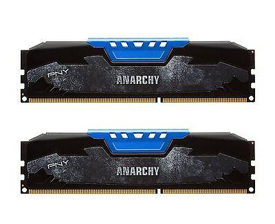 XLR8 PNY - Anarchy 16GB Kit (2x8GB) DDR4 2400MHZ PC4-19200 Desktop Memory