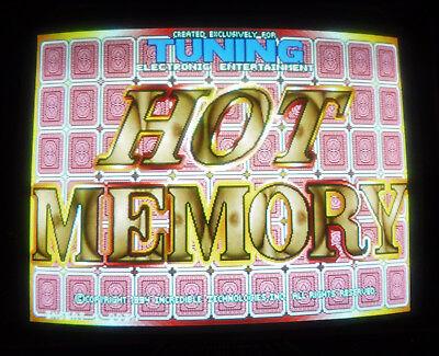 Hot Memory  Arcade  PCB Jamma Platine getestet