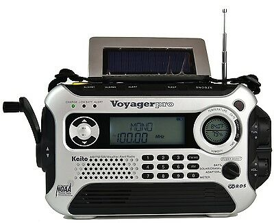 Kaito Silver Ka600l 5 Way Power Emergency Am Fm Sw Noaa Weather Alert Radio