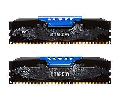 *NEW* PNY Anarchy 16GB Kit (2x8GB) DDR3 1866MHz (PC3-14900) CL10 Desktop Memory