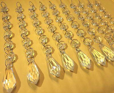 30 Acrylic Crystal Manzanita Tree Hanging Table Strand Wedding Centerpiece Decor