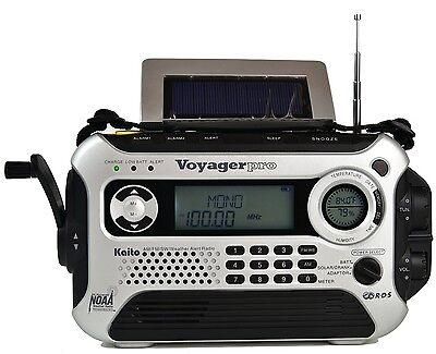 New Kaito Ka600l 5 Way Powered Emergency Am Fm Sw Noaa Weather Alert Radio