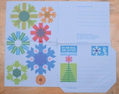 MayfairStamps Great Britain Christmas Tree Holiday Mint Stationery Aerogramme ww