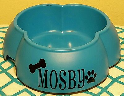 New Personalized Plastic Non-skid Pet Dog Cat Bowl Dish