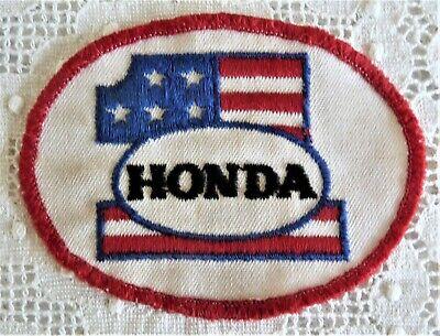 Vintage Honda Advertising - Motorcycle - Souvenir Patch