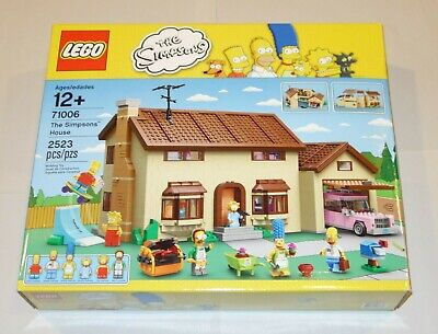 LEGO The Simpsons House Play Set 71006 - RETIRED! NEW! SEALED!