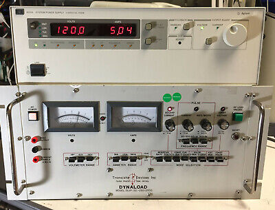 Agilent Hp 6035a Variable Dc Power Supply 0-500v 0-5a 1000w Load Tested