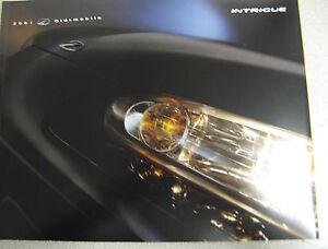 2001 oldsmobile intrigue sales brochure catalog manual ebay. Black Bedroom Furniture Sets. Home Design Ideas