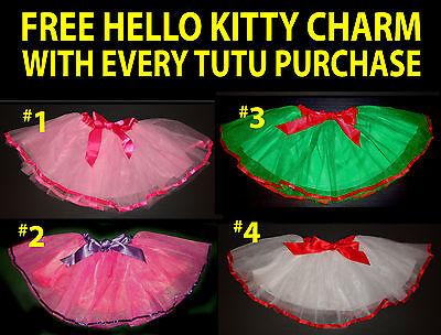 (Girls Tutu Party Princess Ballerina Ballet Dancewear Dress up Skirt Petticoat)