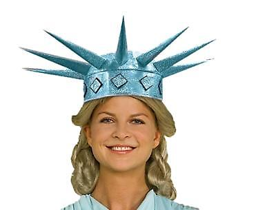 Miss Liberty Tiara Statue USA Fancy Dress Up Halloween Adult Costume Accessory - Miss Usa Halloween Costume