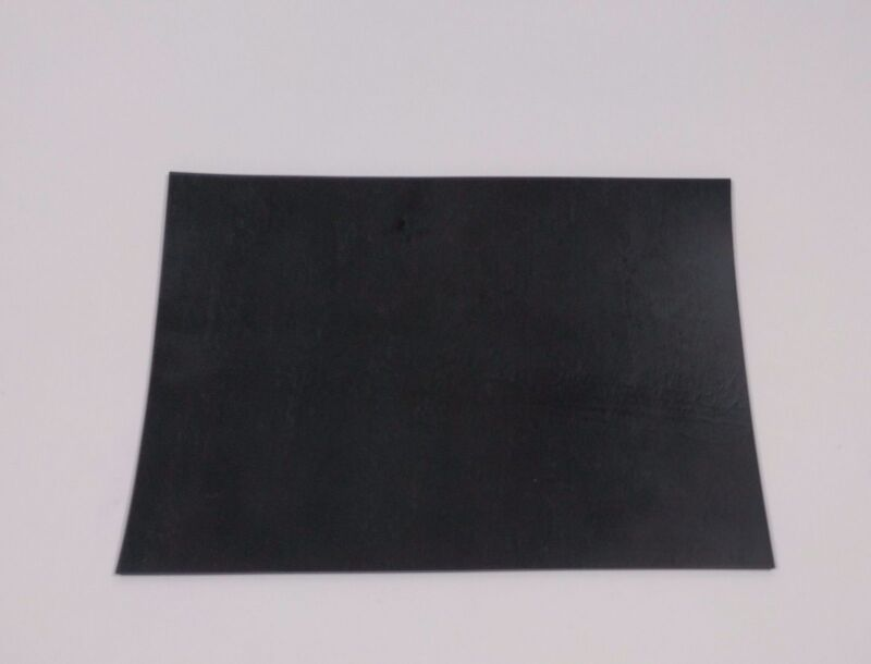 """1/16"""" thick Neoprene Rubber Sheet 5"""" x 7"""" smooth Black FREE SHIPPING"""