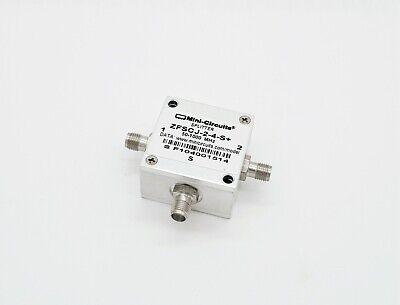 Mini Circuits Zfscj-2-4-s 2 Way-180 50-100 Mhz 50 Power Splitter Combiner