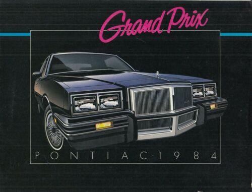 1984 Pontiac Grand Prix Brochure dealer ad