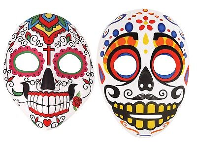 Ladies Day Of The Dead Mexican Halloween Mask Men's Unisex Costume Accessories ](Lady Of The Dead Costume)
