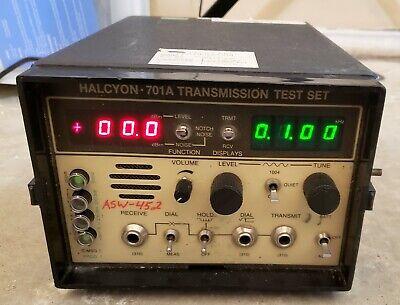 Halcyon 701a Transmission Test Set