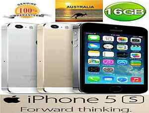 APPLE IPHONE 5S 16GB Gold FACTORY UNLOCKED , 90 DAYS WARRANTY Strathfield Strathfield Area Preview