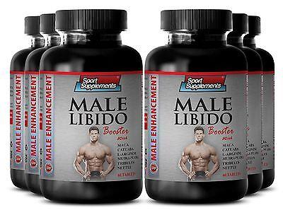 Zinc Vitamins -  Male Libido Booster 1270mg - Testosterone Boost Tablets 6B ()