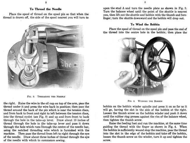Singer 29-4 Sewing Machine  Instruction Manual Reproduction